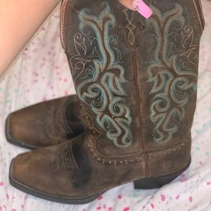 Justin boots size 7.5 women's